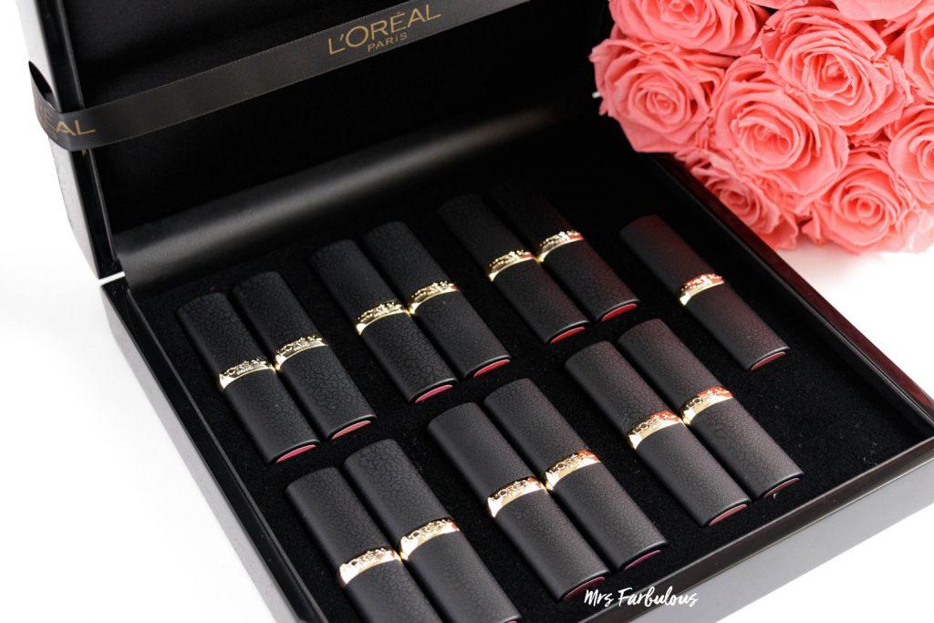 LOREAL Color Riche Matte Lippenstift Box #matteaddiction alle Farben 2