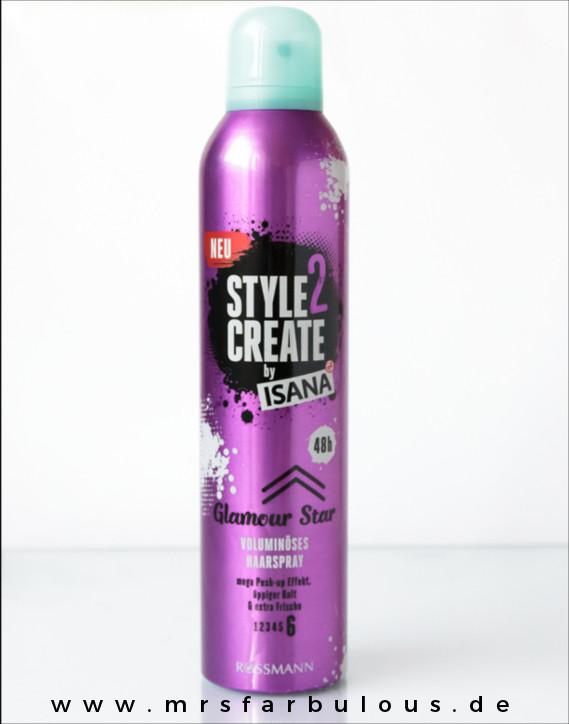 Style2Create by Isana Volumniöses Haarspray